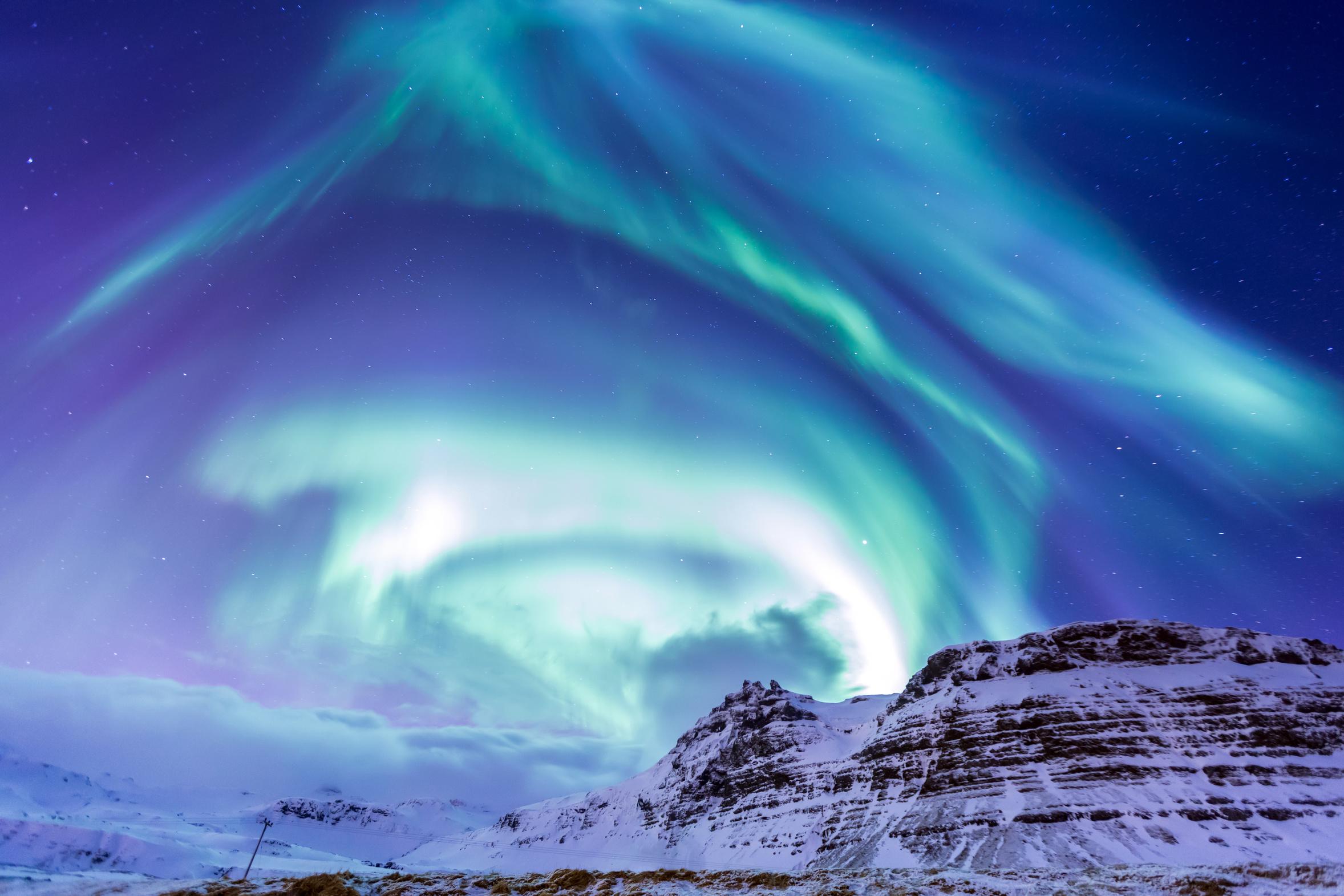 The Northern Light Aurora Iceland